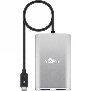 Goobay Thunderbolt 3 (USB-C) to 2x DisplayPort 55226