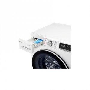 LG Washing machine F4DN409N0 Front loading, Washing capacity 9 kg, Drying capacity 5 kg, 1400 RPM, Direct drive, A, Depth 56 cm,