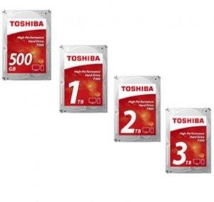 Toshiba P300 500GB 7200 RPM, 500 GB, 64 MB