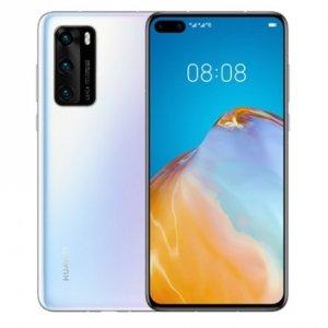 Huawei P40 Ice White, 6.1 , OLED LCD, 1080 x 2340 pixels, Octa-core, Internal RAM 8 GB, 128 GB, NM SD, Dual SIM, Nano-SIM, 3G,