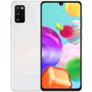 Samsung Galaxy A41 Prism Crush White, 6.1 , Super AMOLED, 1080 x 2400, Mediatek MT6768 Helio P65, Internal RAM 4 GB, 64 GB, mic