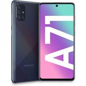 Samsung Galaxy A71 A715 Prism Crush Black, 6.7 , Super AMOLED, 1080 x 2400 pixels, Qualcomm SDM730, Snapdragon 730, Internal RA