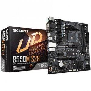 Gigabyte B550M S2H Processor family AMD, Processor socket AM4, DDR4 DIMM, Memory slots 4, Number of SATA connectors 4 x SATA 6Gb