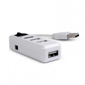 Gembird USB 2.0 4-port hub with switch