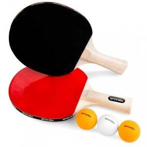 Spokey JOY SET Table tennis set Brown