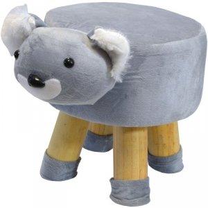 Pufa krzesełko taboret koala 28x28cm