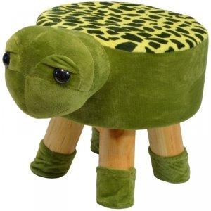 Pufa krzesełko taboret żółwik 28x28cm