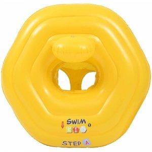 Kółko do pływania siedzisko asekuracyjne dla dziecka 73x70cm 37492