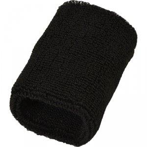 Frotka opaska tenisowa na rękę czarna kpl 2szt Athlitech