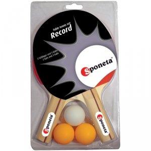 Zestaw Rakietek Do Tenisa Stołowego i 3 Piłeczki Sponeta Record