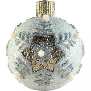 Bombka dekoracyjna z lampkami Led fi 26cm