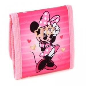 Minnie Mouse - Portfel dziecięcy (różowy)