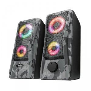 Trust GXT 606 Javv - Zestaw głośników gamingowych z podświetlaniem LED (szary)