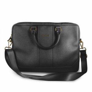 "Guess Saffiano Look Computer Bag – Torba na notebooka 15"" (czarny)"
