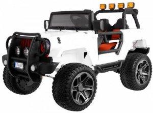Pojazd Monster Jeep 4x4 Biały