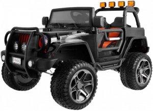 Pojazd Monster Jeep 4x4 Czarny