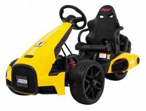 Pojazd Bolid XR-1 Żółty