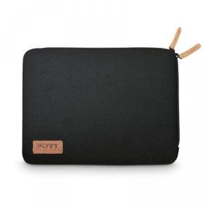 "Etui na laptopa PORT DESIGNS Torino 140381 (Sleeve; 13/14""; neopren ; kolor czarny)"