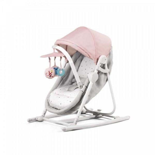 Kinderkraft Leżaczek 5w1 Unimo różowy