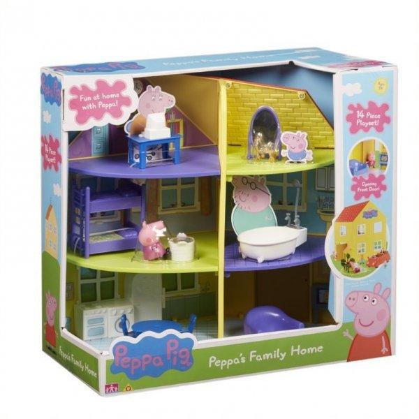 Tm Toys Zestaw figurek Świnka Peppa - Dom rodzinny