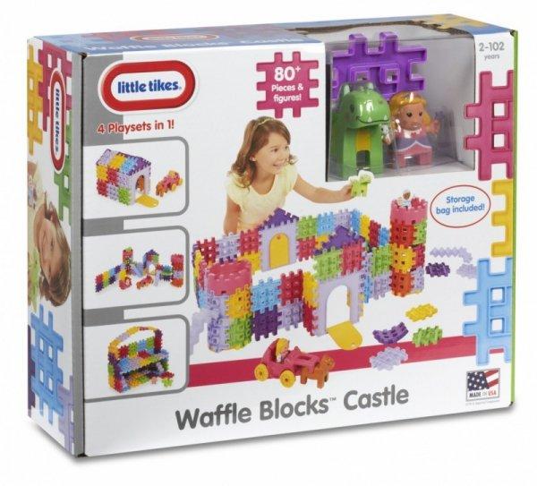 Klocki WAFFLE BLOCKS Zamek