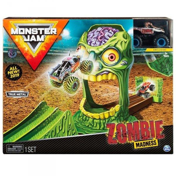Spin Master Tor samochodowy Monster Jam: 1:64 Wyczynowe Zestawy - Zombie