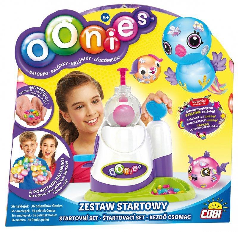 Wspaniały OONIES ZESTAW STARTOWY BALONIKI POMPKA NOWOŚĆ - Zabawki Kreatywne AN03