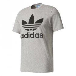 Adidas Originals szara koszulka t-shirt męski Orig Trefoil BK7466