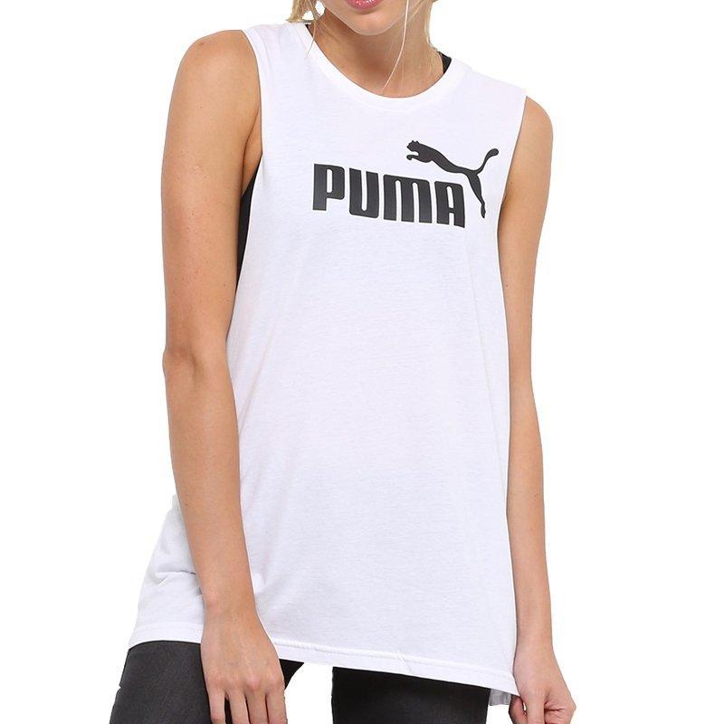 Puma koszulka damska t-shirt Cut Off Boyfriend biała 851363 02