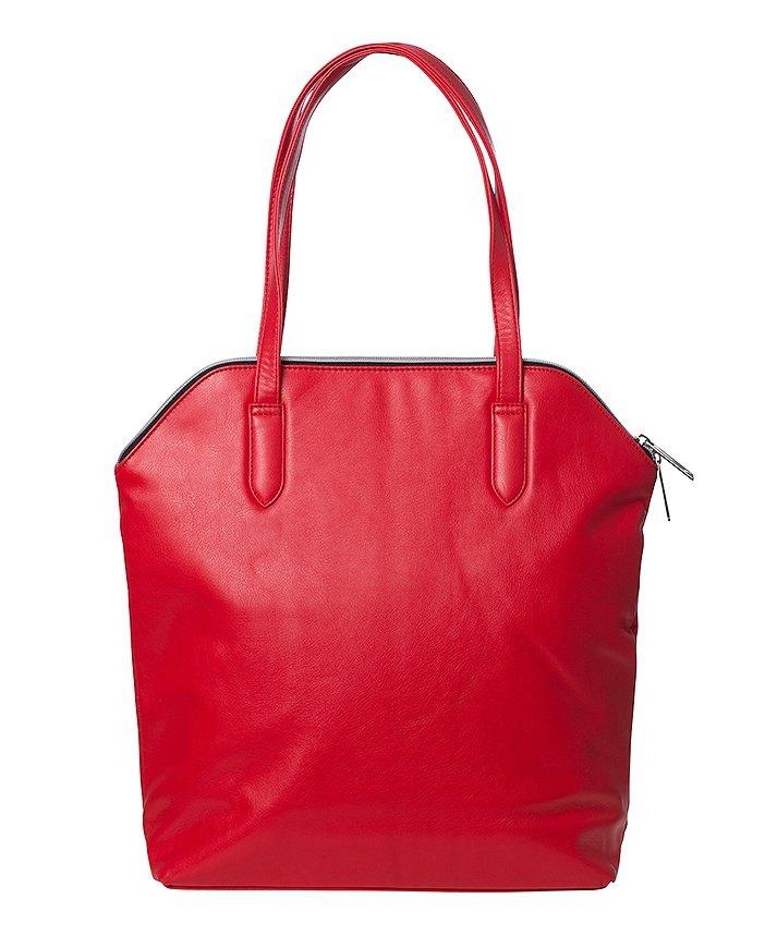 Czerwona miejska torebka Puma Ferrari 072675 02