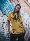 Koszulka 93 Mln Mil Od Słońca  Czarna/Biała/Żółta