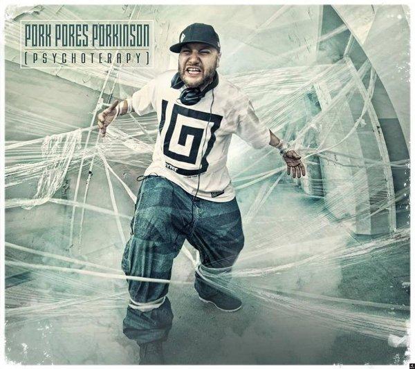 """CD Pork Pores porkinson """"Psychoterapy"""" z autografem"""