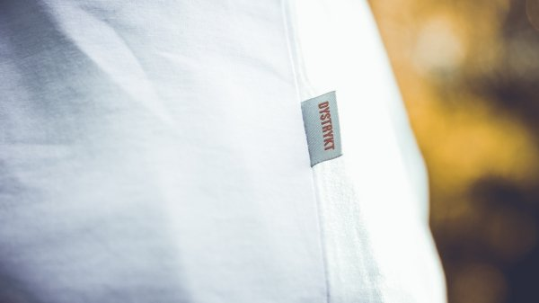 koszulka Dystrykt Basic Blank Biała