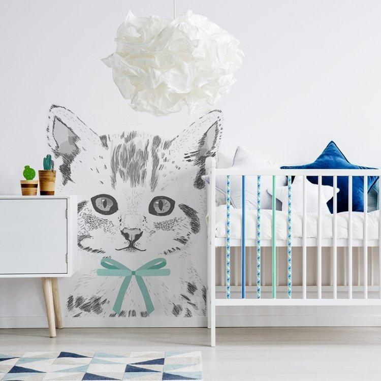 Naklejka Kot Miaurycy Naklejki Na ścianę