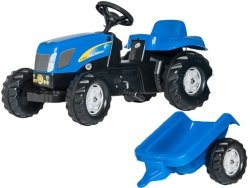 Rolly Toys Kid New Holland z przyczepa