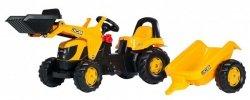 Rolly Toys Traktor Kid JCB z Przyczepą i Łyżką