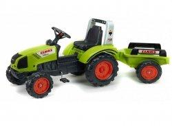 FALK Traktor CLAAS ARION z przyczepą zielony