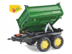 Rolly Toys Przyczepa Mega Wywrotka 2 osie Zielona