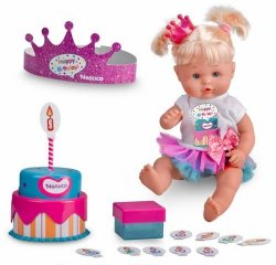 NENUCO Lalka Urodzinowa Happy Birthday
