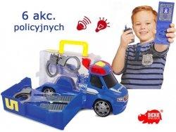DICKIE Samochód Van Policja z Zestawem 33 cm