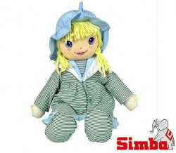 SIMBA Lalka Szmacianka 45 cm Zielona