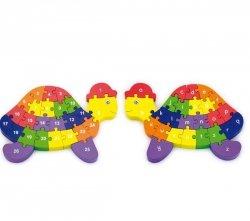 VIGA Puzzle 3D Żółw