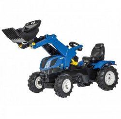 Rolly Toys Traktor Farmtrack New Holland Niebieski