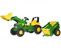 Rolly Toys Traktor John Deere z Przyczepą