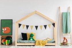 Łóżko dziecięce drewniane DOMEK Mila RM różne rozmiary