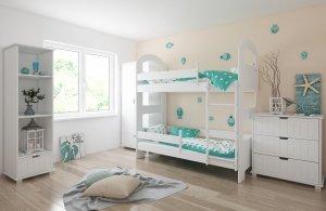 Łóżko piętrowe JACEK II różne kolory