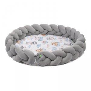 LULANDO Art Collection Mata Braid Velvet - Sleepy