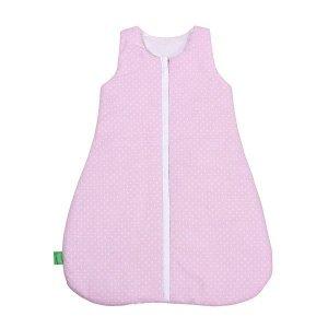 Lulando śpiworek LILI 0-6 różowy w groszki