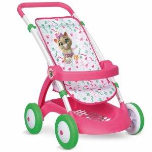 SMOBY 44 Koty wózek Spacerówka dla lalki z  Poręczą