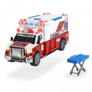 DICKIE A.S. Pojazd Karetka Ambulans 33cm + nosze